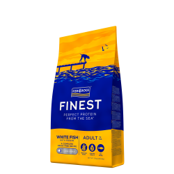 FISH4DOGS  Finest Ocean White Fish adult (Large kibble)  12kg
