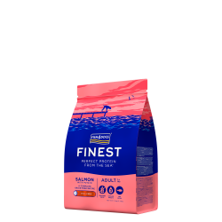 FISH4DOGS  Finest Salmon Adult (Small kibble)  1,5kg