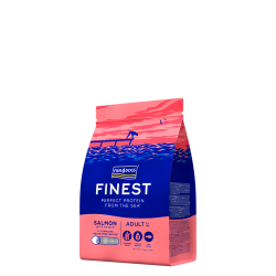FISH4DOGS  Finest Salmon Adult (Large kibble)  1,5kg