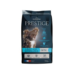Pro-Nutrition Prestige Light & Sterilized Mini 3kg