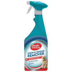 STAIN & ODOUR REMOVER SPRAY FOR DOGS 750ML