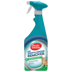 STAIN & ODOUR REMOVER SPRAY FOR CATS 750ML