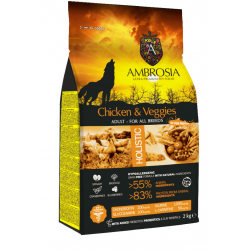 Ambrosia Grain Free  Adult Chicken & Vegies  12kg