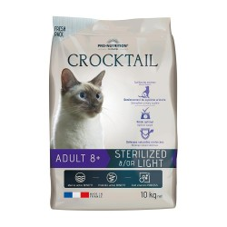 Pro-Nutrition Crocktail Adult Sterilized/Light   8+   10kg