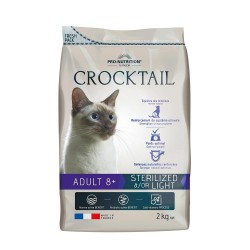 Pro-Nutrition Crocktail Adult Sterilized/Light   8+   2kg