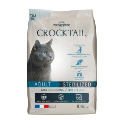 Pro-Nutrition Crocktail Adult Sterilized Fish 10kg