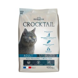 Pro-Nutrition Crocktail Adult Sterilized Fish 400gr