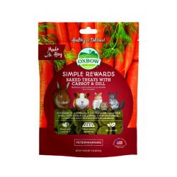 Oxbow Λιχουδιά Simple Rewards Carrot & Dill 85g