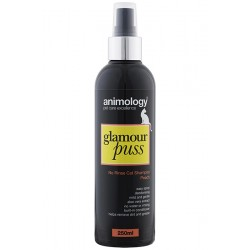 Animology Glamour Puss No Rinse Cat Shampoo - Peach 250ml
