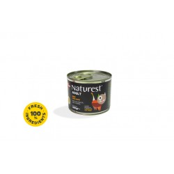 NATUREST ADULT BEEF AND DUCK WITH SALMON OIL AND TAURINE 200G