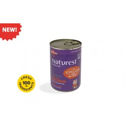 NATUREST STERILISED BEEF AND SALMON WITH SALMON OIL 400G