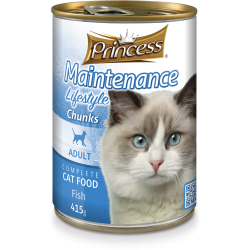 Princess Maintenance Lifestyle Chunks Fish 415g