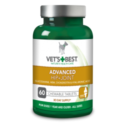 VET'S BEST ADV.HIP & JOINT FOR DOGS 60TABLETS