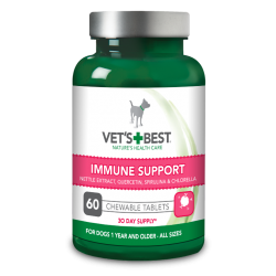 VET'S BEST IMMUNE SUPPORT FOR DOGS 60TABLETS