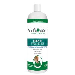 VET'S BEST DENTAL BREATH FRESHNER 500ML